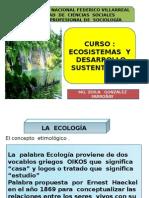 Ecosistemas y Desarrollo Sustentable
