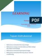 Kuliah 1-2 - Learning Dan Classical Cond-2015