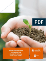 Master Internacional Ingenieria Gestion Ambiental EADIC ESPAÑA