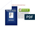 An Analysis of Sri Aurobindo s the Life Divine