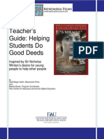Teachers Guide Opportunities to Do Good Acts