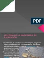 Historia De La Maquinaria Para Excavacion