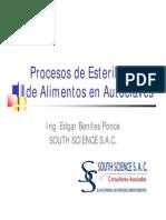 1. Procesos en Autoclaves