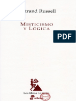 BERTRAND RUSSELL - MISTICISMO Y LÓGICA.pdf
