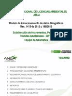 12806 Presentación Modelo de Datos Geograficos Anla 072014 - 2