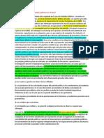 Cómo Se Financian Los Partidos Políticos en El Perú