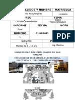Primer Informe de Circuitos Electronicos I