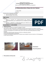Sintesis de dibenzalacetona