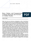 Hall Stuart- Race, culture and communication
