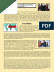 Marcum Family/Ministry Newsletter - Sept 2015