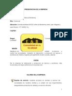 Presentacion de La Empresa