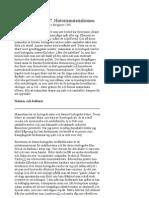 Hade Marx Fel? 7. Historiematerialismen