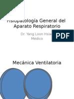 Fisiopatología General Del AP. Respiratorio