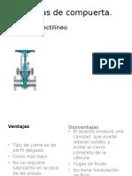Válvulas de Operacion Manual y Automatica