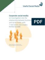 Corporate Social Media White Paper - pt 3