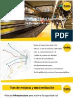 Plan de Modernización del Subte - Piccardo 09/15