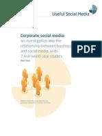 Corporate Social Media White Paper Pt 4