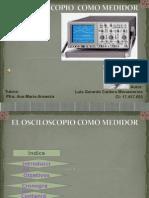 El Osciloscopio