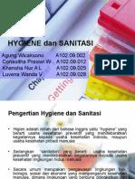 Hygiene Dan Sanitasi
