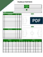 Informe Partido Futbol 11