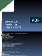 Simulacion Gerencial Montecarlo