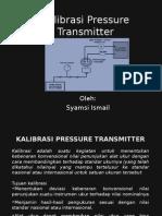 Kalibrasi Pressure Transmitter 111113