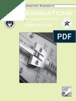 Preparatory Rudiments practice exam 2009