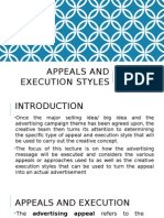 Appeals and Execution Styles