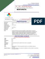 MSDS-BENTONITA