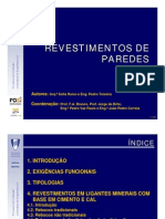 Revestimentos de Paredes - IST