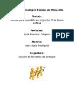 fases de gestion de proyectos