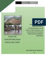 MAPA DE SUSCEPTIBILIDAD FÍSICA DEL PERU