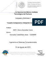 Comparativo Interprete- Compilador