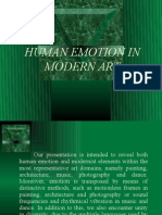 Human Emotion in Modern Art - Slide