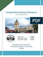 Doing International Business