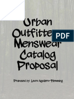 urban outfitters menswear catalog proposal