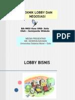 8 Teknik Lobby-Nego Bisnis