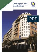 Manual de Orientação Para Produções Acadêmicas (CNEC/Osório)