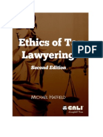 Book- Ethics of Lawyering