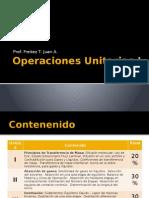 Operaciones Unitarias i - Unidad i