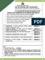 Cesem, Cisee, K-fist (l2), K-fist (l1), Smysr, Rftt, Arp Proposal Format 2015-16