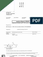 Testrapport DIN 4102-1, B2 - Zanzibar - EnG