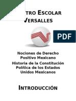Historia de la Constitución Política Mexicana.