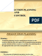 Production Planning and Control L- 1