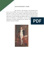 NAPOLEON BONAPARTE - Tematica Singular A, Despre Lider