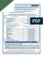 ISO 22000:2018 Documents