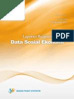 Laporan Bulanan Data Sosial Ekonomi September 2015