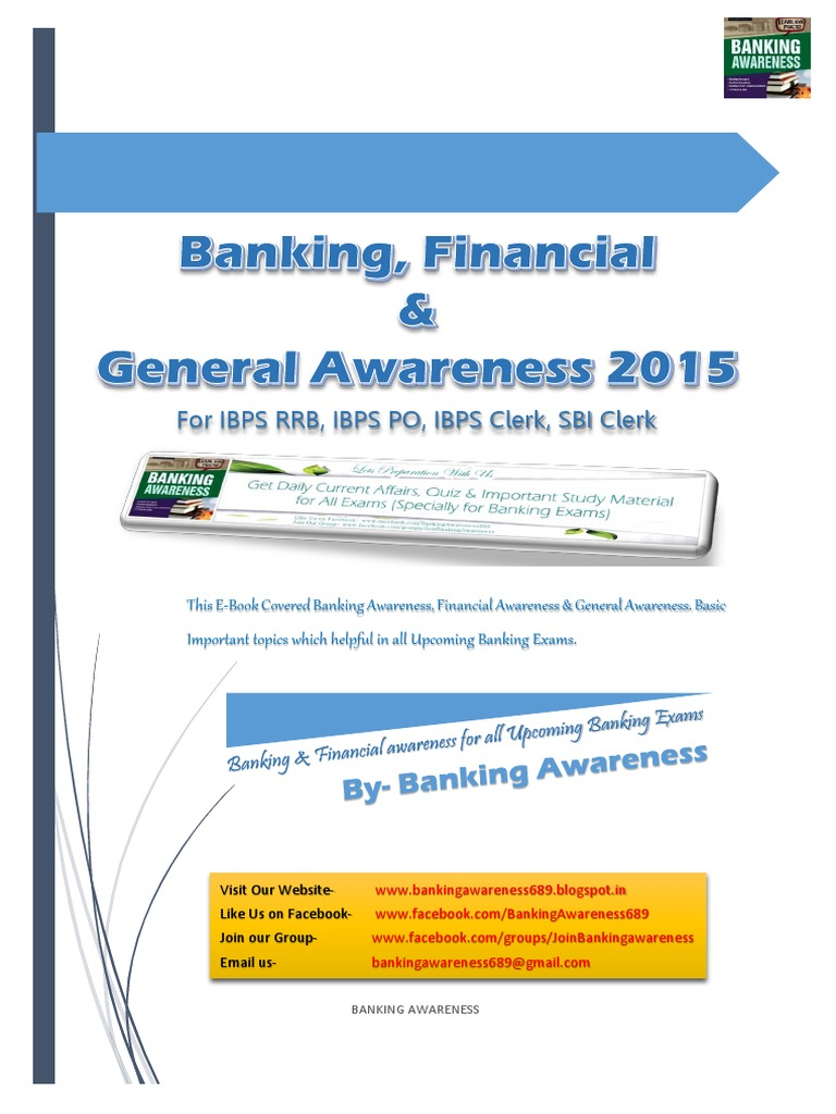 Banking, Financial & General Awareness 2015 for Upcoming Exams | Equity  (Finance) | Bonds (Finance)