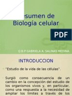 Resumen biologia célular
