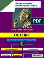 Central Nervous System Drugs II